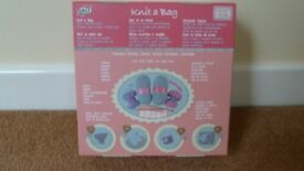 Galt knit a bag and purse kit