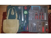 Collection of Common Useful Tool Set for Sale with Canvas Satchel £30