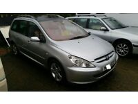 £900 FOR ALL 3 x PEUGEOT 307 ESTATE ALL 2.0 HDI IDEAL EXPORT
