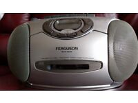Ferguson CD,Radio Cassette Player
