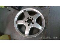 Mercedes CLK front wheel