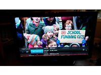 """Samsung 40"""" LCD Television with Freeview Model LE40R88BD with stand & Remote"""