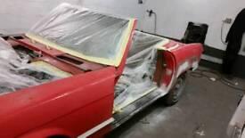 Painturride. Car body repairs