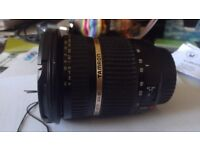 Tamron 10-24 mm lens. Canon fit