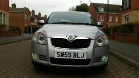 2009 Skoda Fabia 1.4 TDI PD DPF GreenLine 5dr Cam belt changed. Hpi clear.