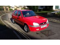 2002 FORD FIESTA FREESTYLE 1.25 PETROL 5 DR HATCHBACK RED FULL SERVICE HISTORY 12 MONTHS MOT