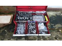 Mac tools and britoll makes of tools in toolbox