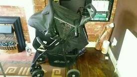 Pushchair with carseat
