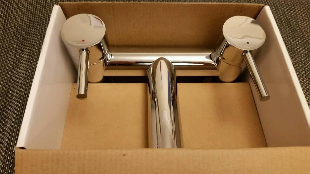 Bath Filler Chrome New