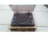 Sony PS LX250H Turntable Boxed as New