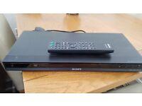 Sony dvd player & remote control