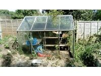 Glass green house for sale