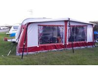 Away Daze Caledonion lux caravan awning
