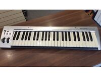 M-Audio KeyRig 49 - USB MIDI Keyboard Controller