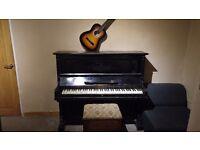 C.J Gebaughr Upright Piano (will consider decent offers)