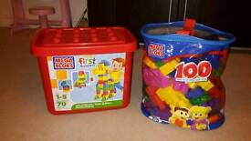 Mega blocks (baby duplo)