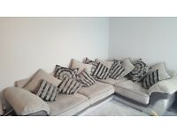 Corner Sofa and Swivel Chair/Cuddle Couch (FREE DELIVERY ON APRIL 14TH WITHIN 50 MILES OF BRUM)