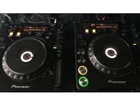 X2 Pioneer CDJ 1000 MK2/Pioneer DJM 350 for sale