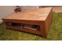 Oak Coffee Table 50x110x36cm