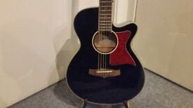 Tanglewood Winterleaf Electro Acoustic Guitar   TW4BK   Black - Like New & Collection Only.