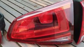 VW Golf Mk7 VII Inside Right Rear Tail Light Perfect Condition Genuine Original