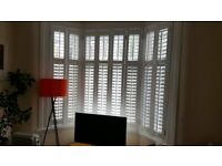 Plantation Shutters INSTALLED BEFORE CHRISTMAS