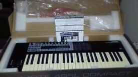 Novation remote 49 sl compact midi controller keyboard. All Boxed