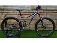 Giant Trance 2 full suspension mountain bike bicycle hardtail