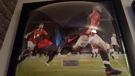 Wayne Rooney Signed Boot