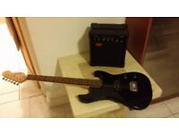 Electric Guitar + Amp