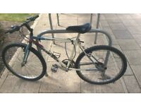 2 bicycles for sale. Need to undergo repair work before use. Hence selling at scrap price