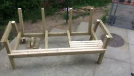 bench with table