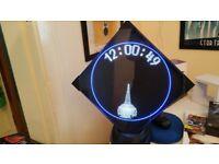Virtual Clock - Spinning LCD Display
