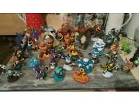 180 skylander figures and traps £1.50 each tel 07808222995