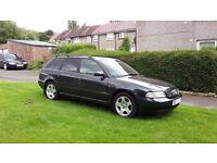 AUDI A4 B5 ESTATE 1.8 T. FULL LEATHER + ELECTRICS 1 YEAR MOT, GREAT RUNNER,