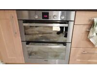 Bosch HBN13N550B Electric Built Under Double Oven