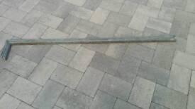 14 Galvanised metal straps