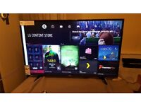 LG 49-inch SUPER Smart 4K UHD HDR LED TV-49UH603,built in Wifi,Freeview HD, Please Read Description