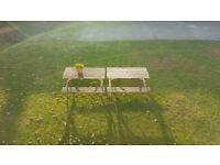 TWO Garden Bench for Sale in Wembley aear in HA0 postcode area