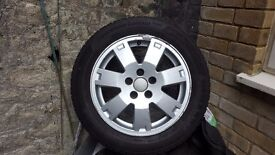16 inch Alloy Wheel with Continental Winter 4 Tyres