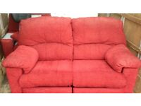 Two seater sofa and armchair recliners BOTH ELECTRIC ! I can deliver free if local