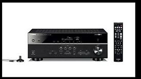 Yamaha Rx v481 black av receiver surround sound amplifier