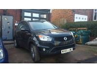 2015 (65) Ssangyong Korando 4x4 2.0l Diesel car for sale