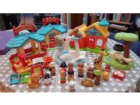 Early learning centre - Happyland School and Zoo sets