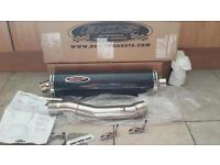 NEW carbon exhaust for R1 R6 FZS1000