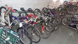 Second hand Bike Sale THIS SATURDAY 7th JULY - LOTS of Good Quality Used Bikes for Sale
