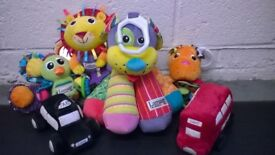 Package 6 cuddly toys