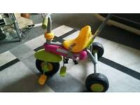 Bike toddlers with handle