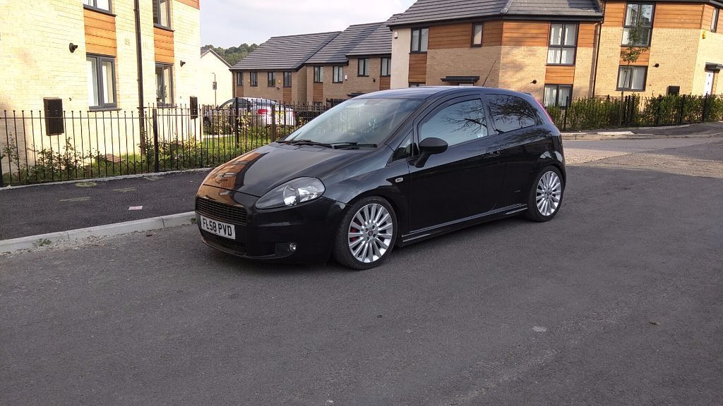 fiat punto grande evo 1 9 multijet turbo diesel 2009 reg 98k guidearo design abath 150bhp 6. Black Bedroom Furniture Sets. Home Design Ideas