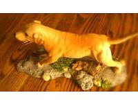 REDUCED Royal Doulton Golden Labrador From The Spirited Dogs Range No. DA111 Perfect Condition